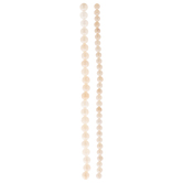 Pink Electroplated Quartz Bead Strands