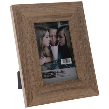Brown Wood Look Frame