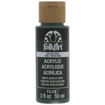 Sap Green FolkArt Acrylic Paint