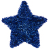 Blue Tinsel Star