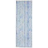 Reversible Blue Watercolor Table Runner