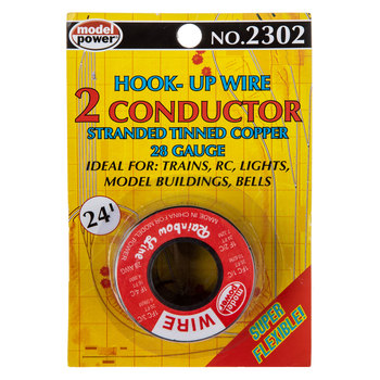 Two Conductor Hook-Up Wire