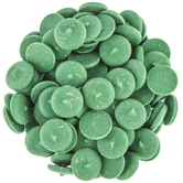 Dark Green Vanilla Candy Wafers