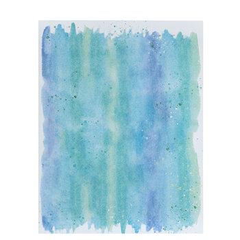 "Cool Hues Watercolor Paper - 8 1/2"" x 11"""
