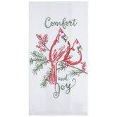 Comfort & Joy Flour Sack Kitchen Towel