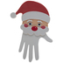 Santa Hand Foam Craft Kit