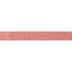 Red & Cream Buffalo Check Wired Edge Ribbon - 1 1/2
