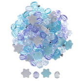 Ice Princess Novelty Bead Mix