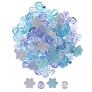 Ice Princess Novelty Bead Mix