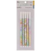 Pastel Watercolor Fine Tip Pens - 5 Piece Set