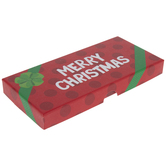 Red Merry Christmas Gift Card Holder