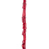 Red Bamboo Nugget Bead Strand