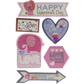 Valentine's Day 3D Stickers