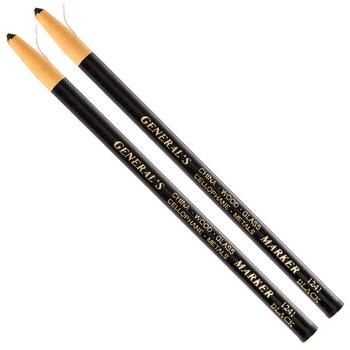 Black China Markers - 2 Piece Set