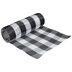Black & White Buffalo Check Deco Mesh Ribbon - 10