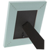 Turquoise Distressed Wood Look Frame - 3 1/2
