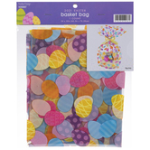 Patterned Eggs Easter Basket Bag