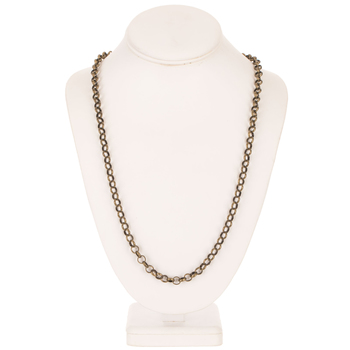 """Rolo Chain Necklace - 30"""""""