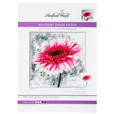Dahlia No-Count Cross Stitch Kit