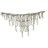 Green Draping Jasmine Leaf Garland