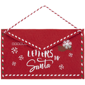 Letters To Santa Envelope Wall Decor