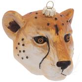 Leopard Head Ornament