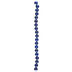 Blue Round Lapis Bead Strand - 10mm