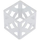 White Cube Metal Napkin Ring