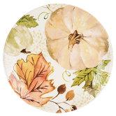 Cream & Green Watercolor Pumpkin Plate