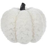 Faux Fur Pumpkin