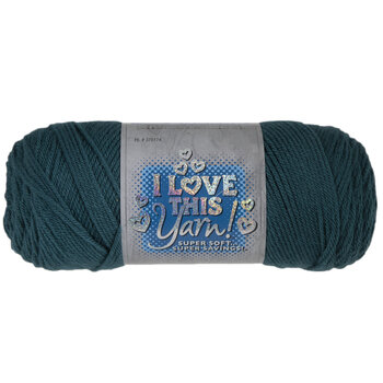 Antique Teal I Love This Yarn