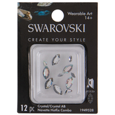 Swarovski Navette Hot Fix Crystals