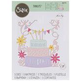 Sizzix Thinlits Floral Cake Dies