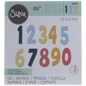 Sizzix Bigz Numeracy Die