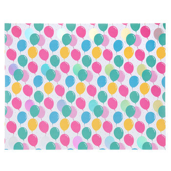 "Birthday Balloons Poster Board - 22"" x 28"""