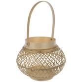 Bamboo Weave Wood Lantern