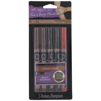 Face & Body Markers - 5 Piece Set