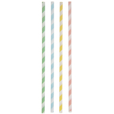 Pastel Striped Lollipop Sticks
