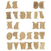 Walnut Hollow Uppercase Alphabet HotStamps