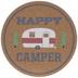 Happy Camper Cork Trivet
