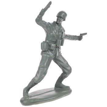 Green Waving Soldier