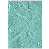 Tropical Leaves Textured Impressions Embossing Folder