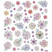 Flower Foil Stickers