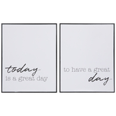 Great Day Wood Wall Decor Set