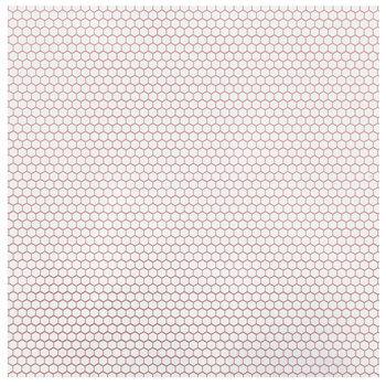 """Rose Gold Honeycomb Foil Scrapbook Paper - 12"""" x 12"""""""