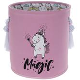 Pink Unicorn Magic Laundry Hamper
