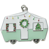 Retro Christmas Camper Pendant