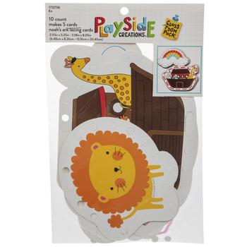 Noah's Ark Lacing Card Craft Kit