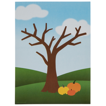Tree & Pumpkins Cards