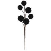 Black Velvet Ball Pick